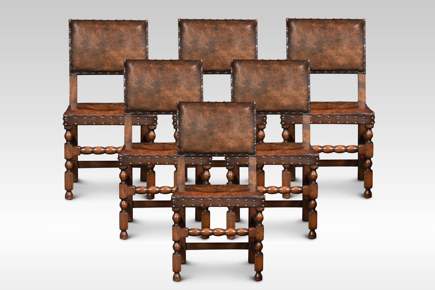 Strange Set Of Six Carved Oak Dining Chairs Caraccident5 Cool Chair Designs And Ideas Caraccident5Info